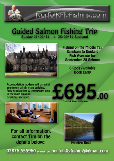 River Tay Scotland Fishing Trip